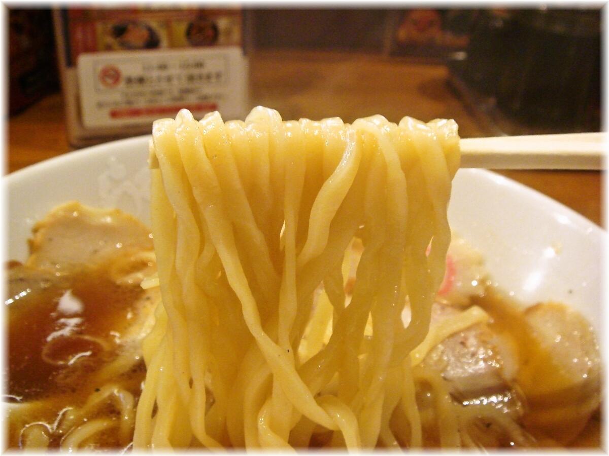 らあめん花月嵐 大崎食堂肉増しの麺