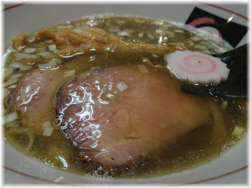 おおぜき中華そば店 味玉にぼしそばのスープ