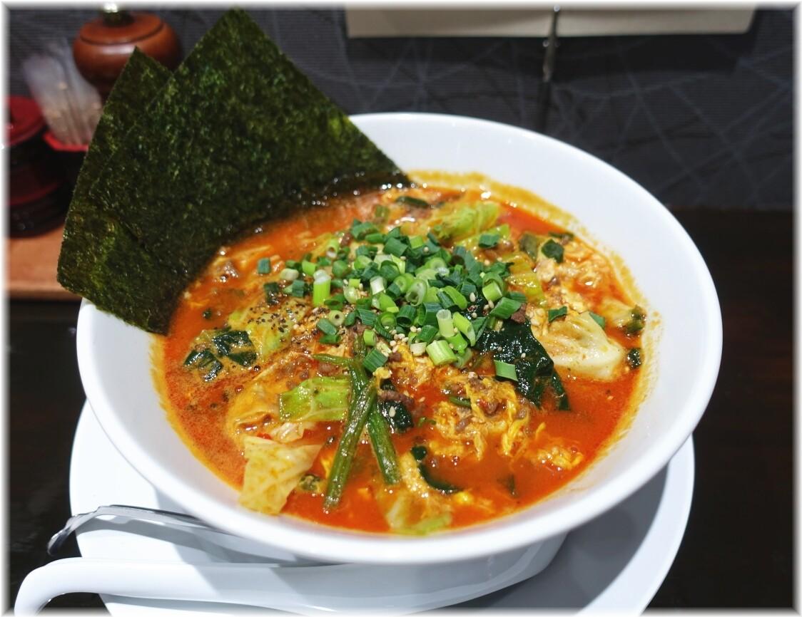 拉麺五瞭2 牛骨白湯(ユッケジャン)
