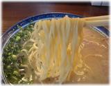 しばらく日本橋店 ラーメンの麺