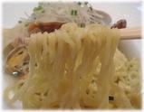銀座City Noodle 活アサリヌードルの麺