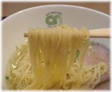 銀座City Noodle 塩釜チャーシューヌードルの麺