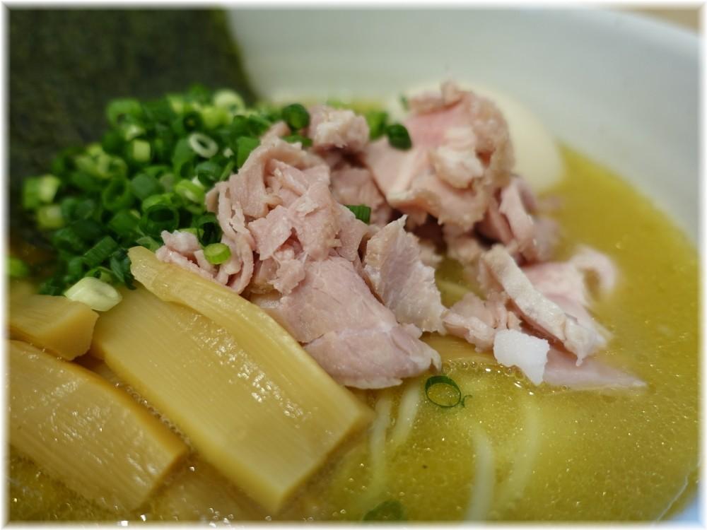 純鶏soba煌 特製純鶏らーめんの具