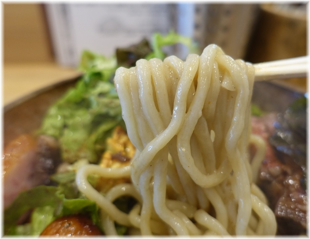 Handicraft Works2 wild monster paletteの麺