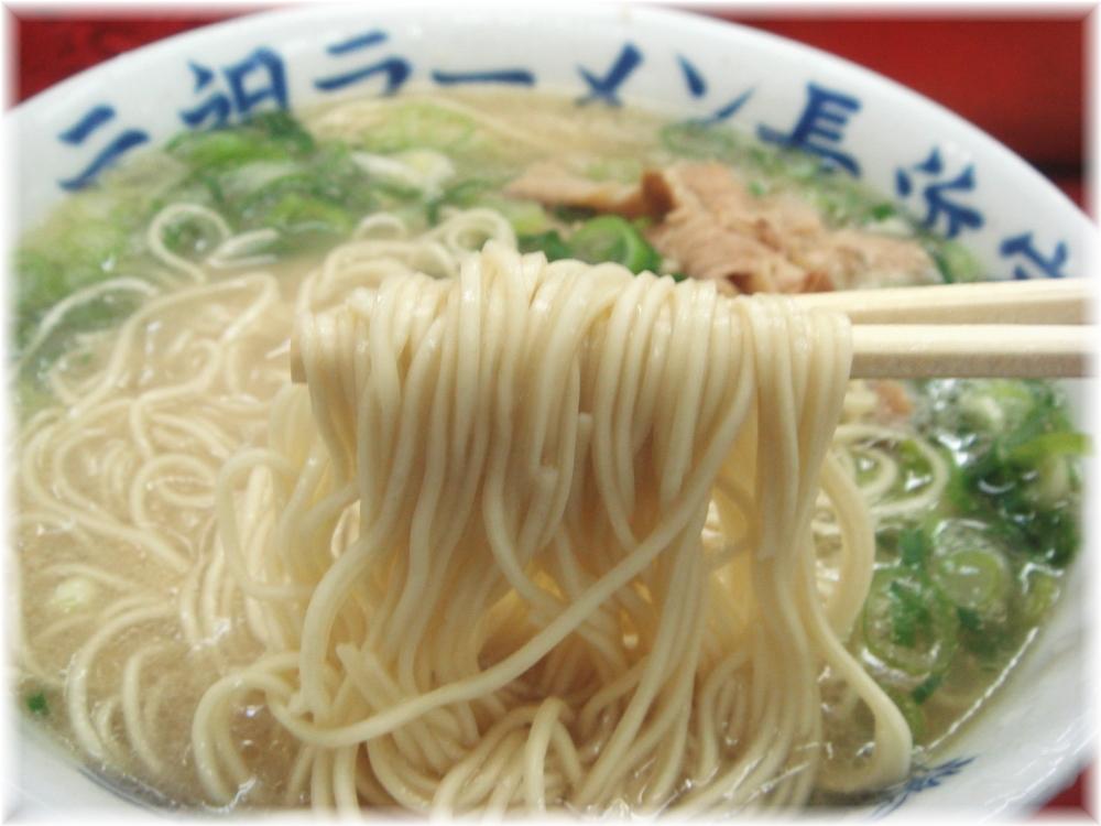 長浜家 ラーメンの麺