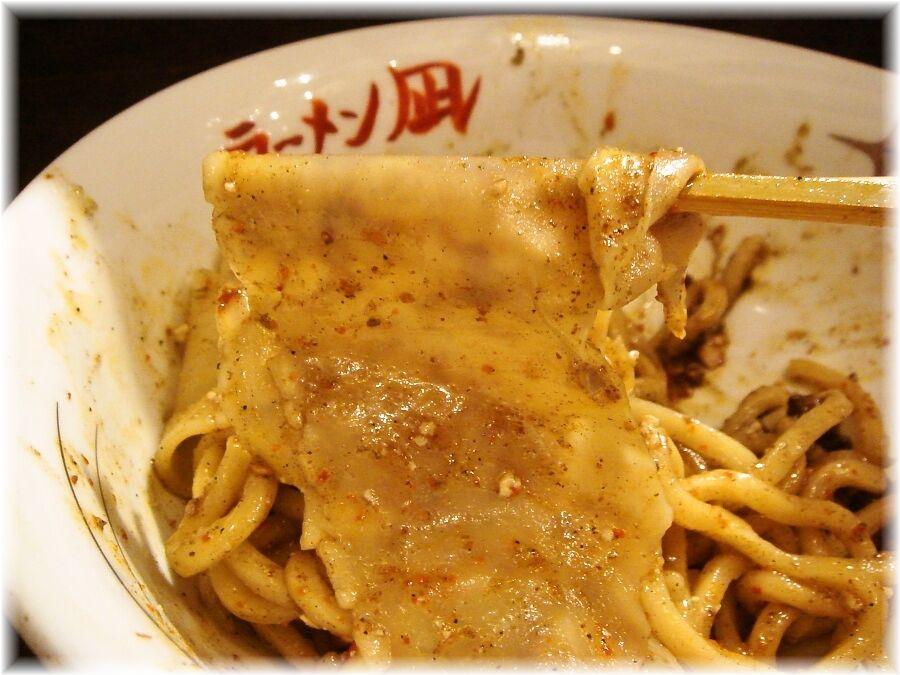 ラーメン凪炎のつけ麺の一反も麺