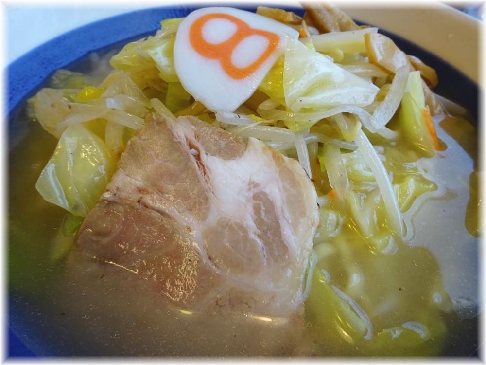 8番らーめん 野菜らーめん(塩味)の具