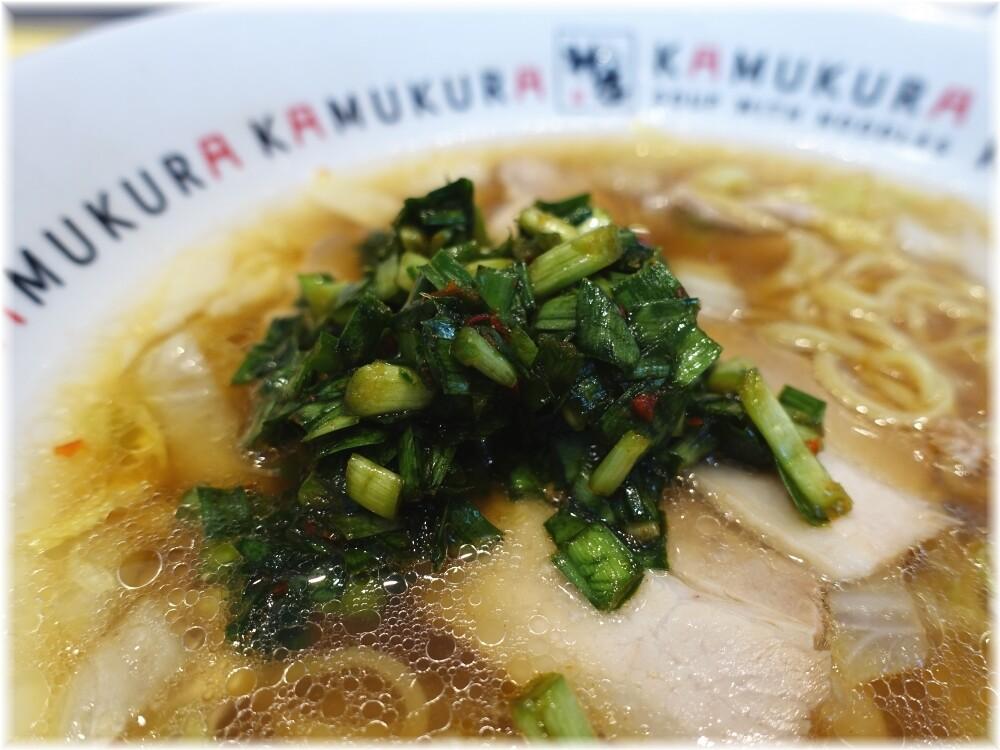 どうとんぼり神座渋谷店 おいしいラーメンにニラ薬味