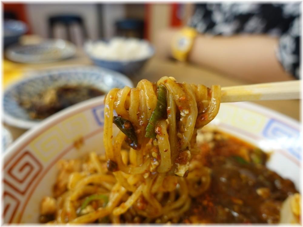 スパイス食堂サワキチ 麻辣麻婆麺の麺