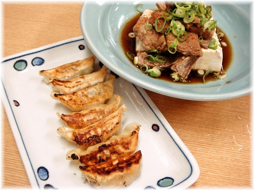レストランHIRO すじポン湯どうふと餃子