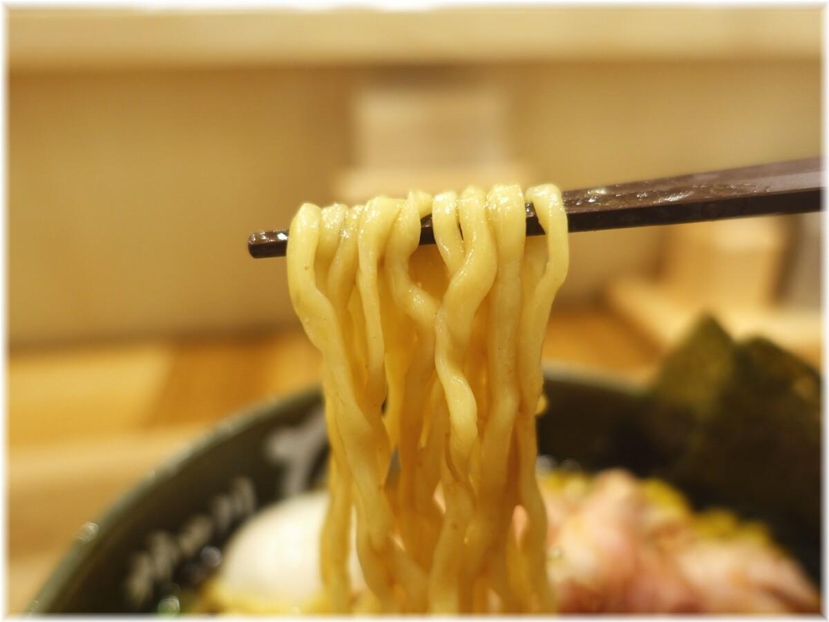 柿田川ひばり 特製味噌らーめんの麺