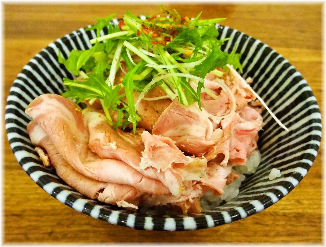 中村屋海老名本店 焼豚のたたき飯