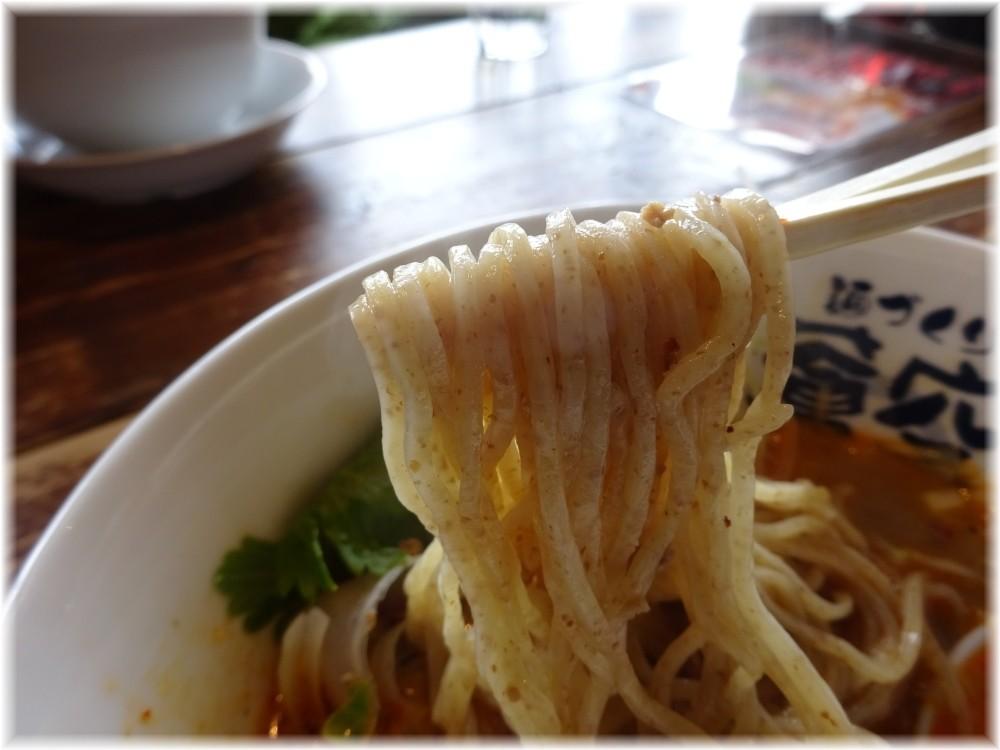 蒼空 担々麺の麺