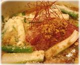 新潟越後味噌らーめん 弥彦 「越後味噌激麺」の具