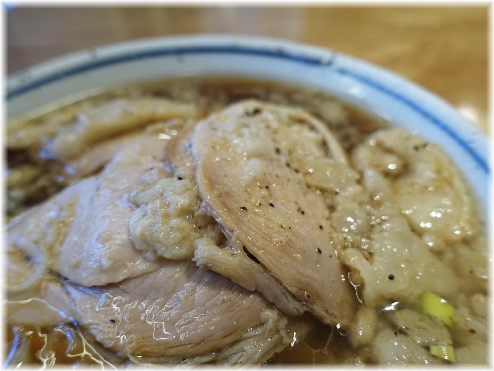 凪川口東口駅前店 脂(ふつうの煮干ラーメン)のチャーシュー