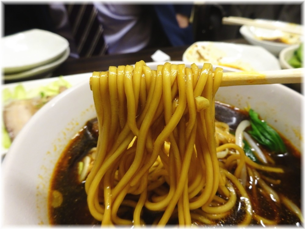 食為天 牛肉麺の麺