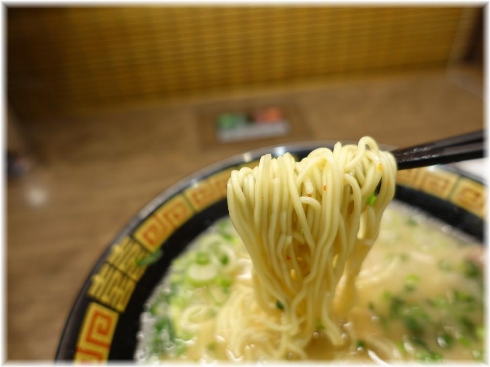 一蘭 横浜桜木町店 ラーメンの麺