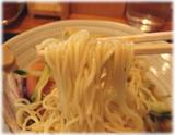 博多ラーメン 由丸 冷やし中華の麺