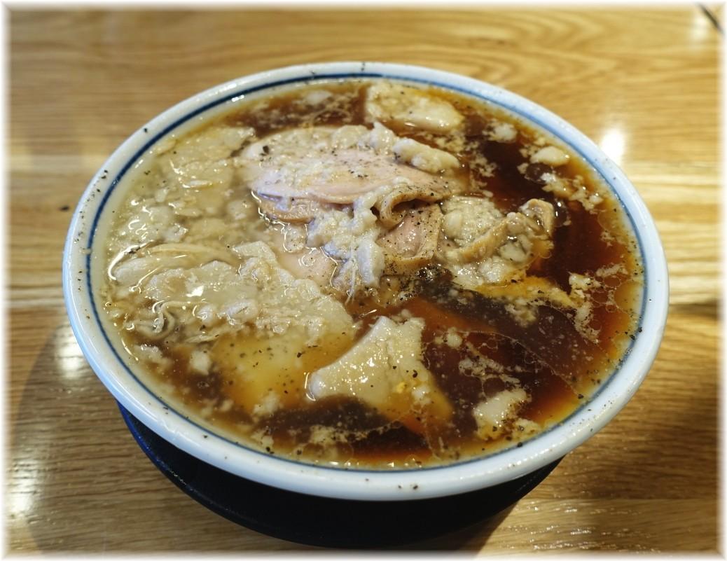 凪川口東口駅前店 脂(ふつうの煮干ラーメン)
