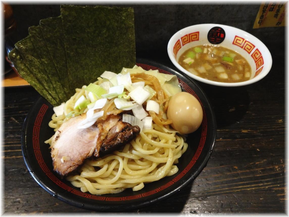 ラーメン凪煮干王西新宿店 特製つけ麺