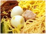 揚子江菜館 元祖冷やし中華(五色涼拌麺)の肉団子と鶉の玉子