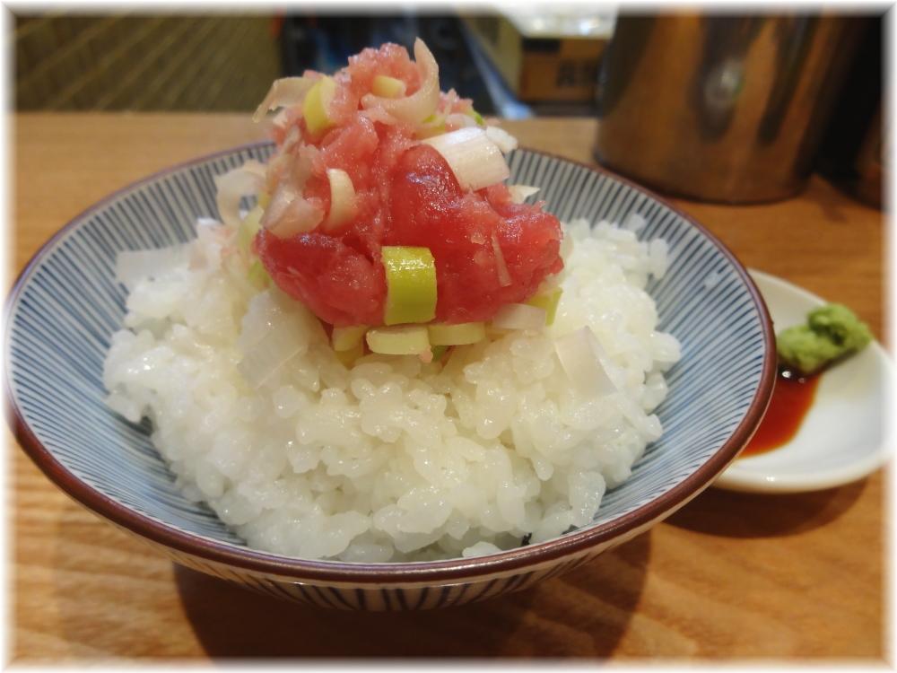 つじ田奥の院 ネギトロ丼