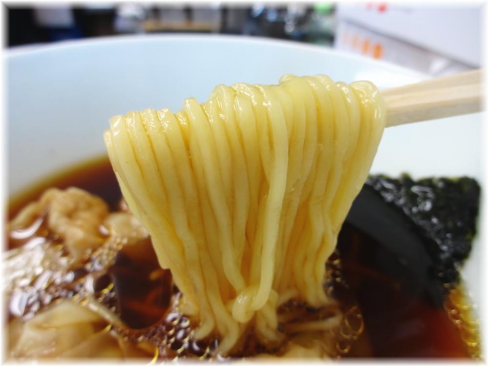 らぁめん夢2 ワンタンつけ麺の麺2