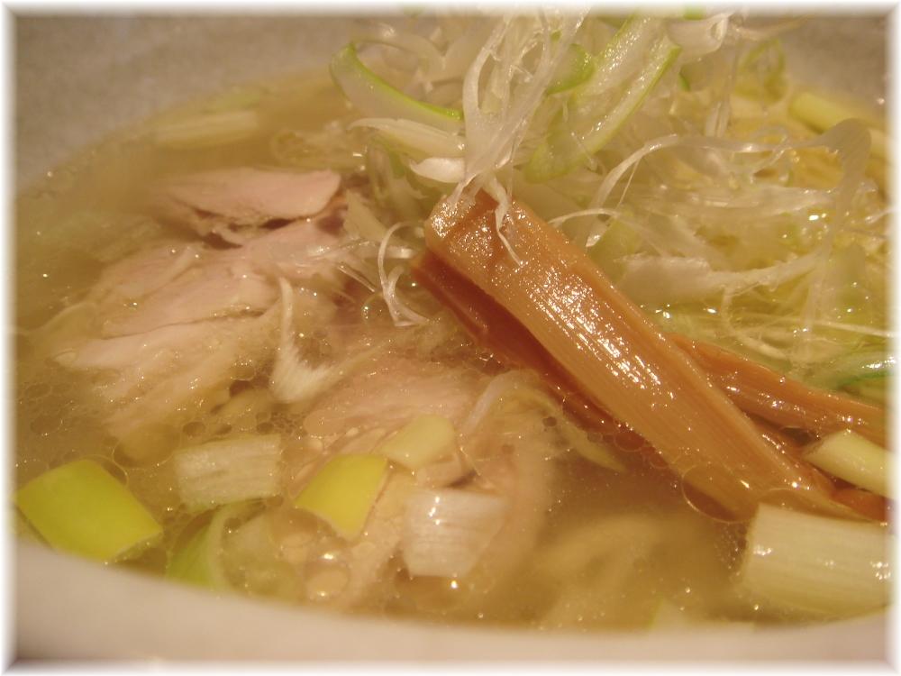 シフク 塩らぁめんのスープ