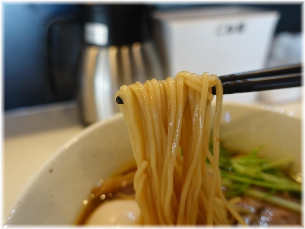麺場80'S 80(ハチマル)ラーメン+味玉の麺