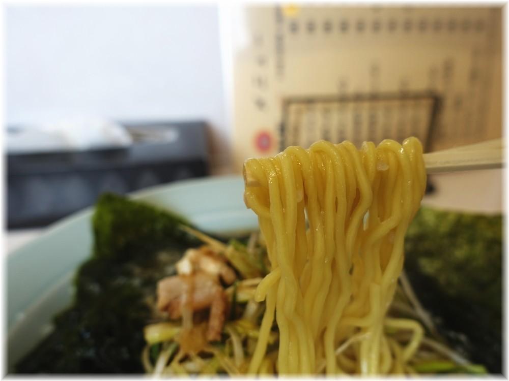 ラーメンショップ片柳店 ネギラーメンの麺