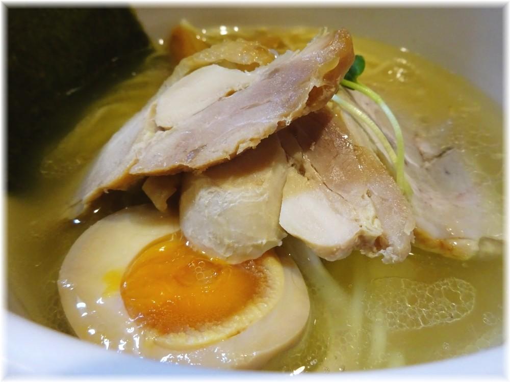 麺屋冽 あっさり塩鶏そばの具