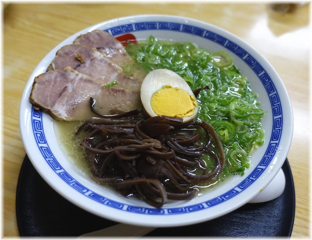 長浜らーめん呑龍3 特製ラーメン