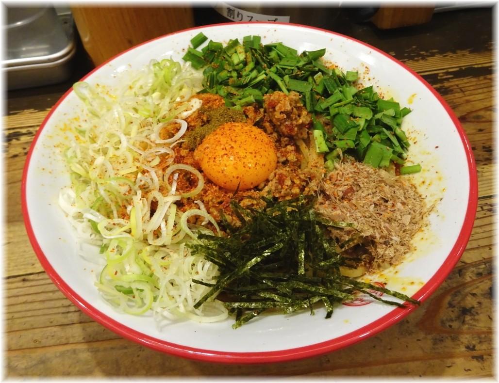 三田製麺所6 灼熱まぜそば