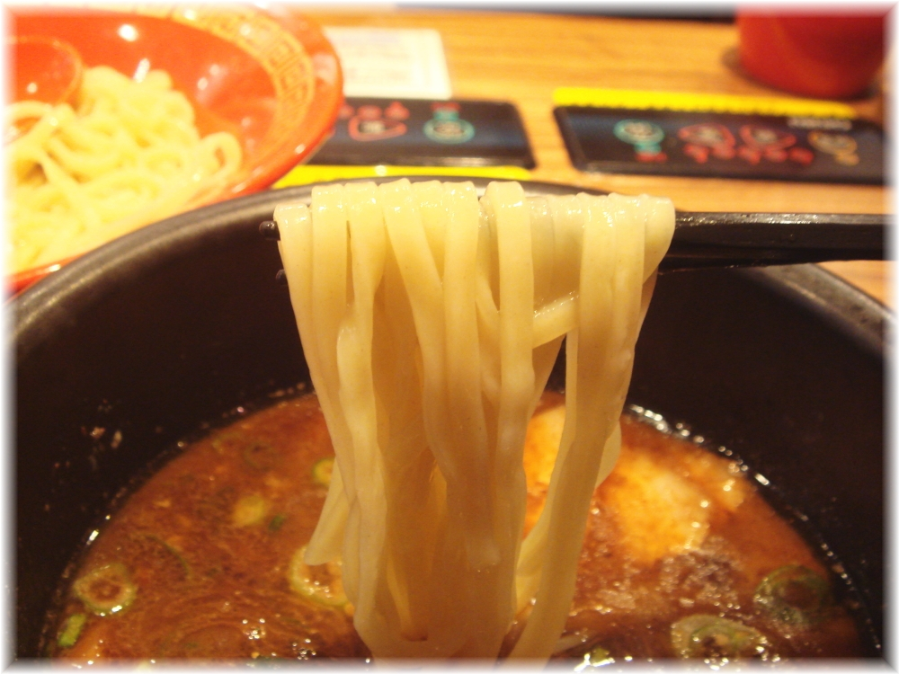 麺屋慶史 つけ麺の麺リフト