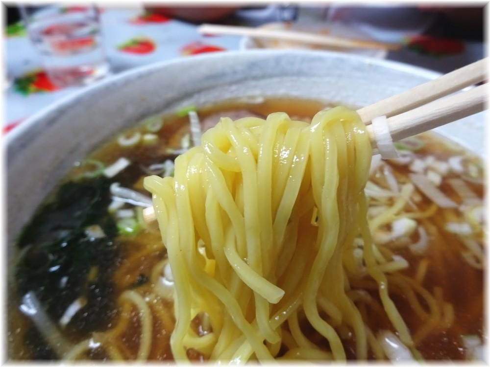 龍王 ラーメンの麺