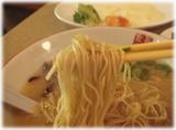 長浜食堂 こってり長浜とんこつラーメンの麺