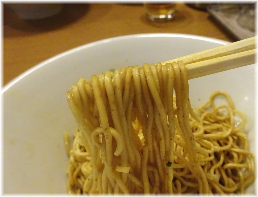 中華蕎麦あお木 和え玉の麺