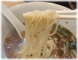 海鳴 正油煮干し拉麺の麺