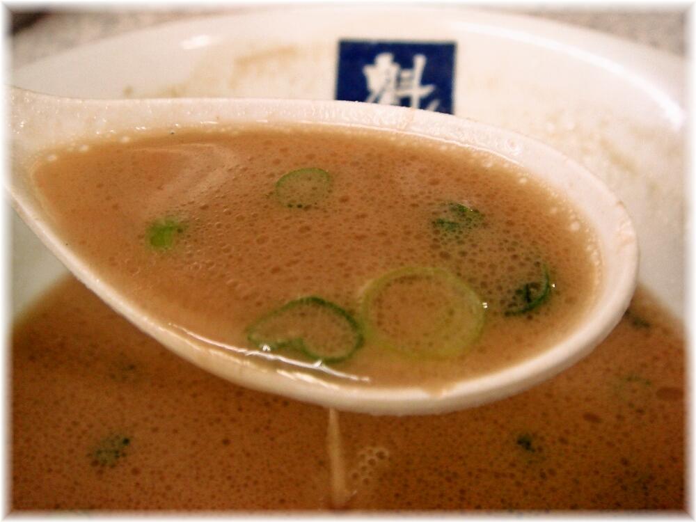魁龍博多本店 ラーメンのスープ2