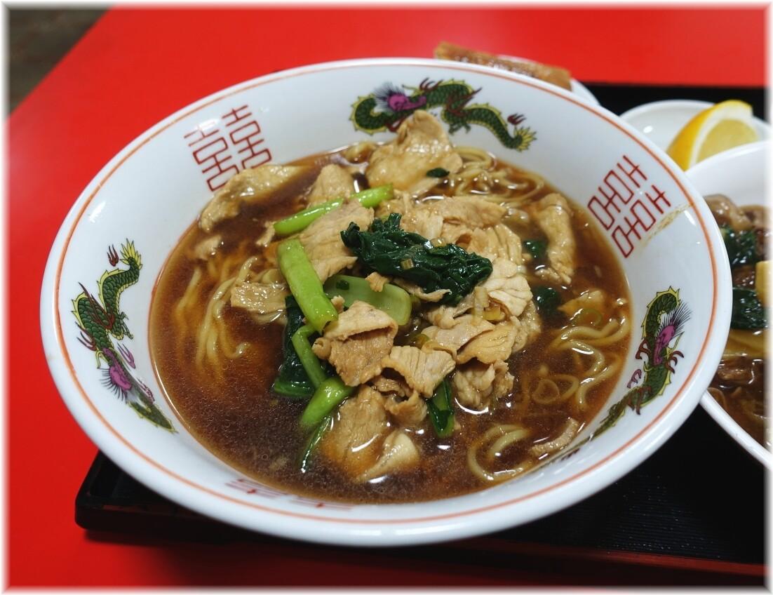 大連2 豚肉麺