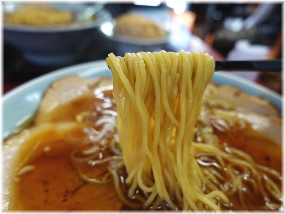 ゼンジー南京鬼怒川店 チャーシューメンの麺