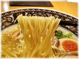 中村屋 味玉塩ラーメンの麺