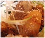 元祖原宿ばさらか1994 とろ角煮丼のアップ