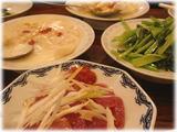 天津飯店 銀座店 一品料理の数々