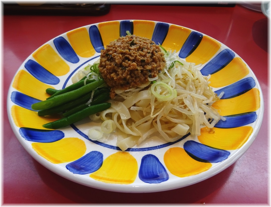 宇都宮みんみん駅東口店 炸醤麺(ジャジャメン)