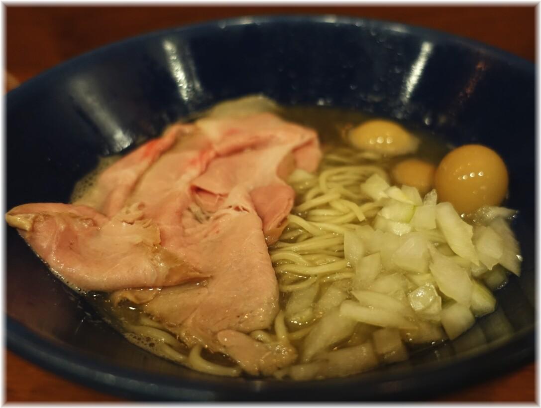 横濱丿貫 煮干蕎麦の具