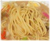 名代ラーメン亭 チャンポンの麺