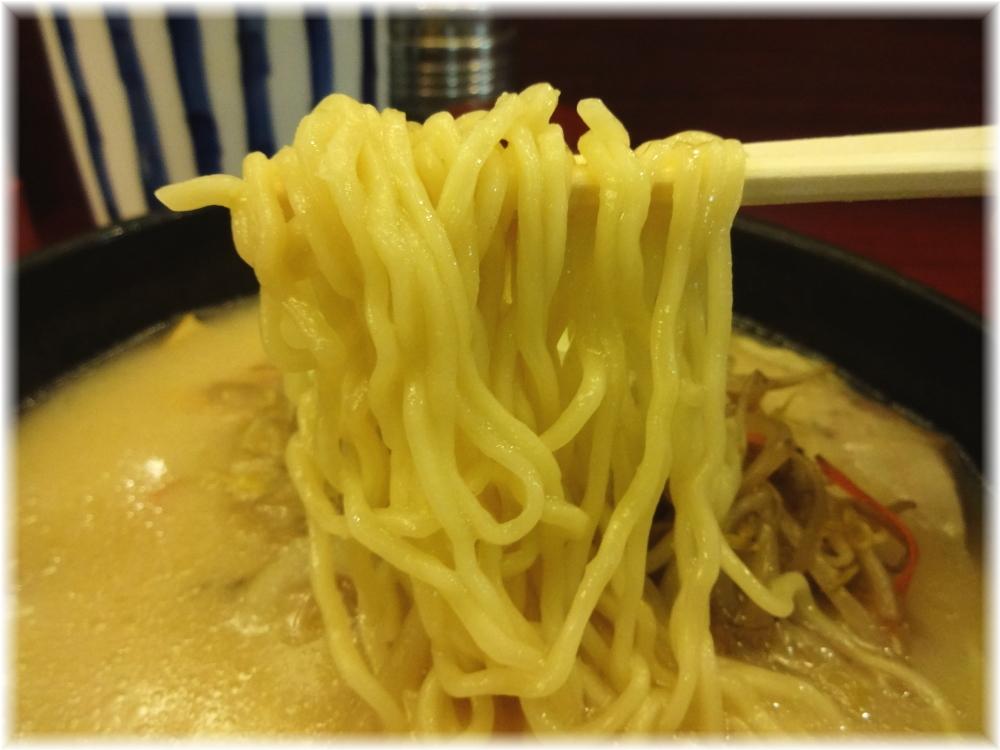 横浜元祖札幌や 味噌ラーメンの麺