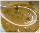 目黒屋 華麗なる汁なし(ハーフ)のスープ割り