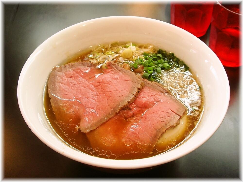 マタドール 贅沢焼牛らぁ麺(正油)